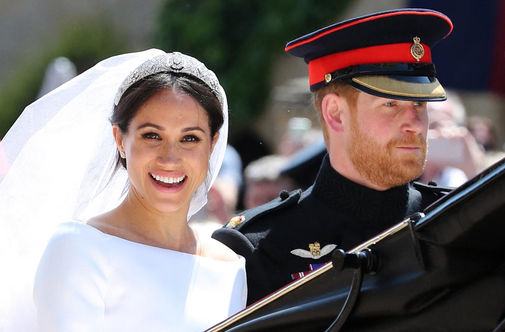 Meghan & Harry don't have 'any regrets' about their 'fairytale' & see themselves as 'self-made woman & her knight'