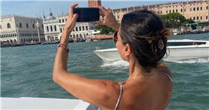 Melanie Sykes, 51, reunites with Italian beau Riccardo in gushing tribute to 24 year old