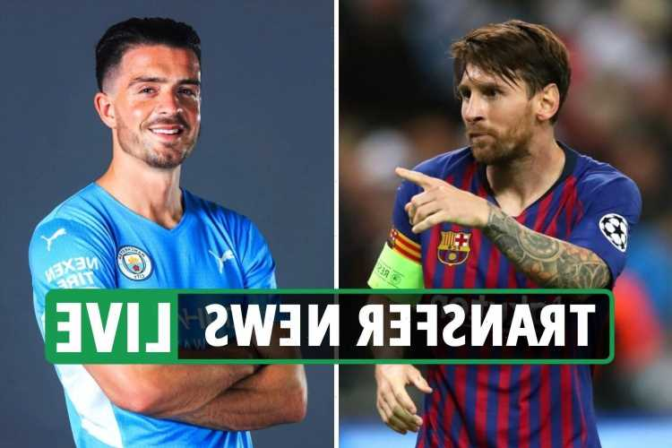 Messi next club latest, Grealish to Man City COMPLETE, Lukaku 'to join Chelsea in 48 hours' – transfer news live