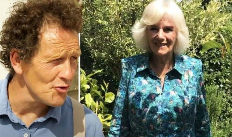 Monty Don sparks divide as he shares behind the scenes snap with the Duchess of Cornwall