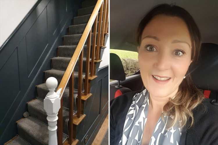 Mum shows how she strips paint in SECONDS using a kitchen utensil & is praised as a 'life-saver'