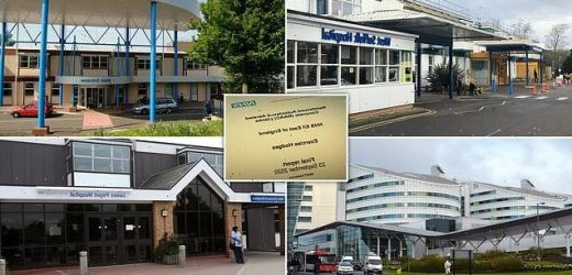 NHS bosses have a 'mass casualty plan' in case  hospitals COLLAPSE