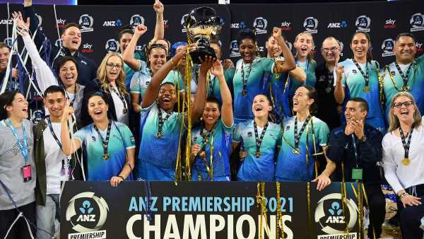 Netball: Northern Mystics claim first ANZ Premiership title with win over Mainland Tactix