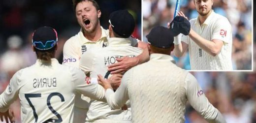 Ollie Robinson fires England to huge win over India with five wickets as hosts level series with innings win