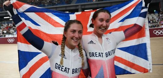 Olympics: Britain's Laura Kenny wins madison for fifth cycling gold