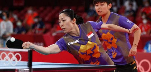 Olympics: S'pore table tennis campaign ends after 3-0 loss to China in women's team q-finals