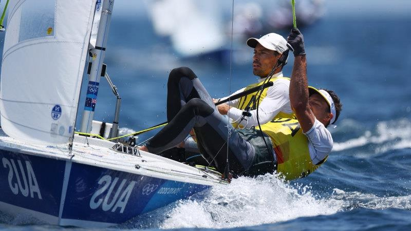 Only a catastrophe will stop another sailing gold as Australian duo all but seal 470 victory