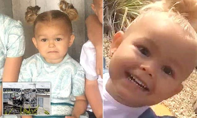 Pictured: 'Gorgeous' girl, two, killed in caravan fire