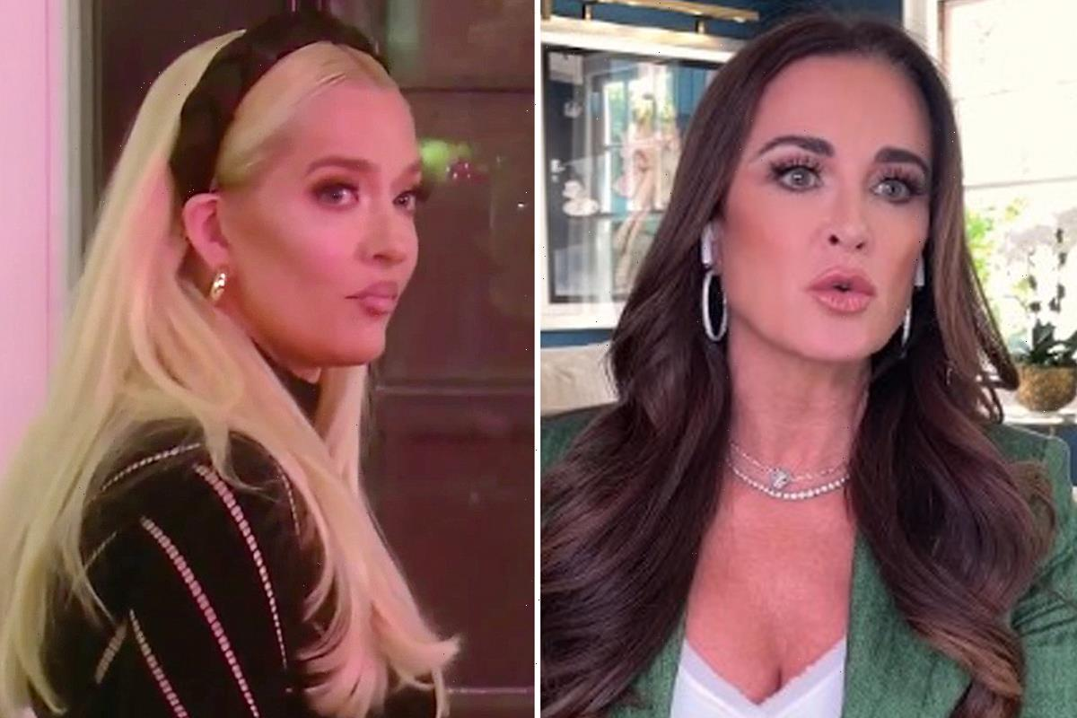 RHOBH's Kyle Richards says Erika Jayne is 'very upset & embarrassed' by costars alarmed reaction to embezzlement scandal