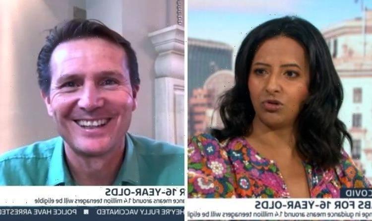 Ranvir Singh issues apology as she snubs GMB guest in embarrassing blunder 'Terribly sorry