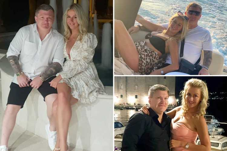 Ricky Hatton back with glamorous ex-girlfriend Marie Pollard as he posts loved-up snaps with 'the Mrs' on holiday