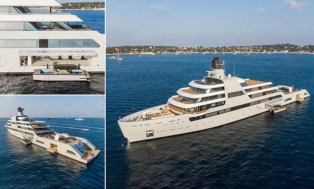 Roman Abramovich's Solaris is spotted for first time at sea