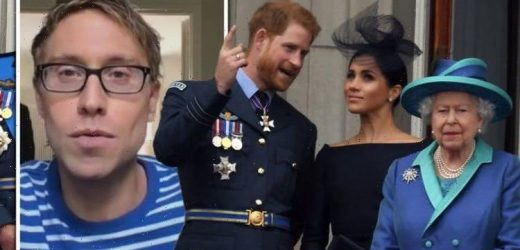 Russell Howard admits Aussies worried about the Queen over Harry and Meghan 'How is she!'