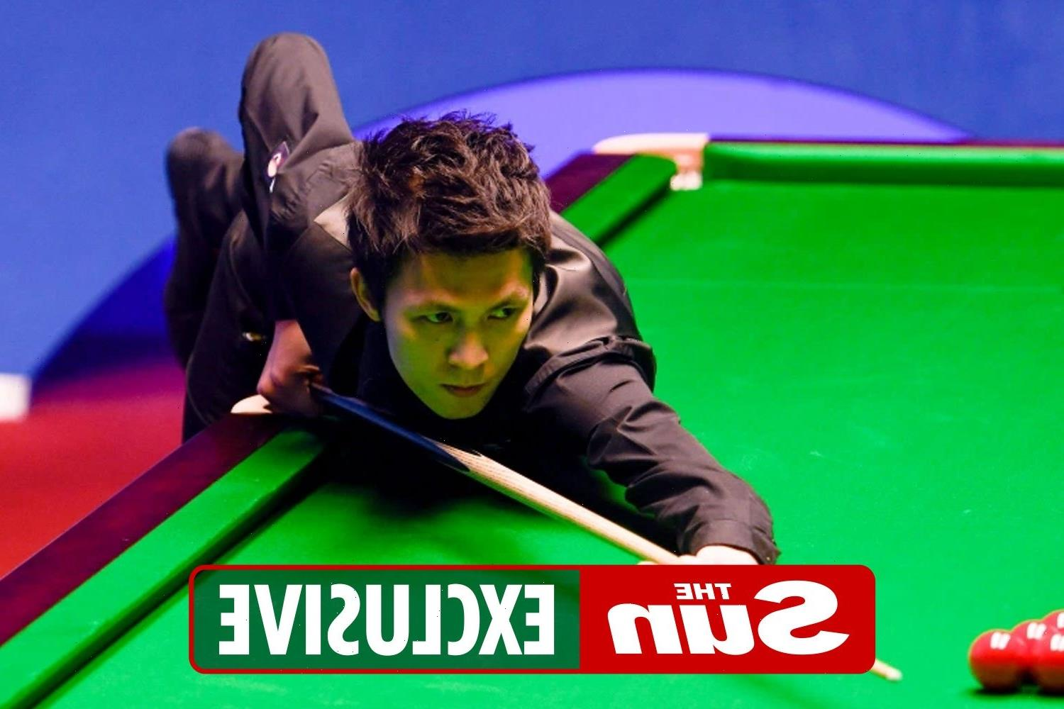 Snooker player makes history by racking up a remarkable break of 155