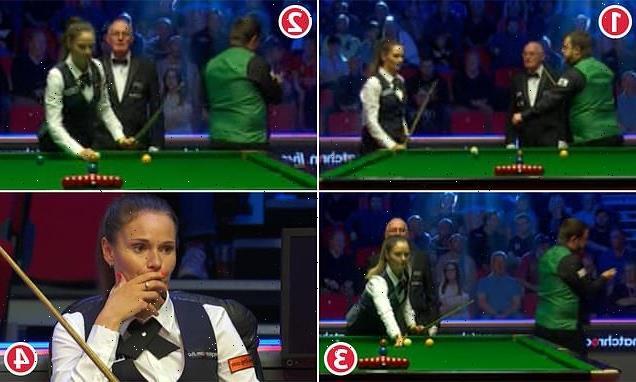 Snooker's Battle of the Exes! Reanne Evans ignores Mark Allen