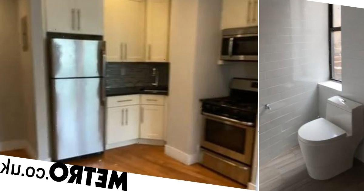 Strange $2,950-a-month apartment for rent in New York makes people's heads hurt