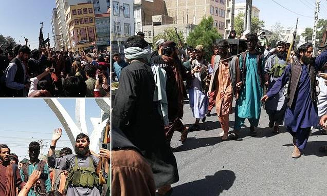 Taliban 'law' sees 'thiefs' painted black and dragged through streets