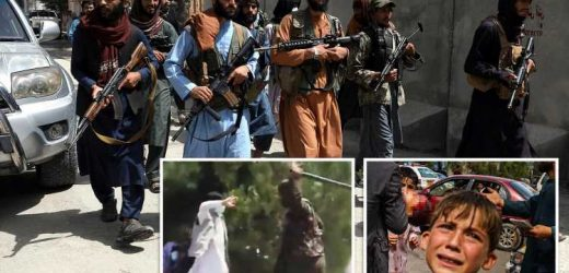 Taliban shoot dead protesters and whip crowds in Afghanistan after initial charm offensive