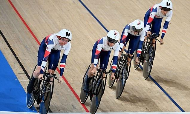 Team GB secure qualification in women's cycling team pursuit