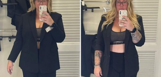 Teen Mom Kailyn Lowry poses in just her bra after breaking down in tears over cruel trolls who body-shamed her