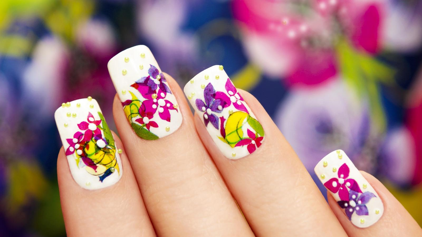 The Simple Hack For Instant Nail Art Without Drying Time