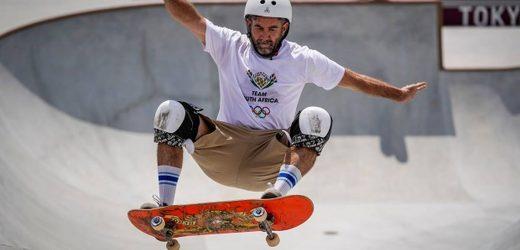 Tokyo Olympics 2020: At 46, African skateboarder finally wows mum