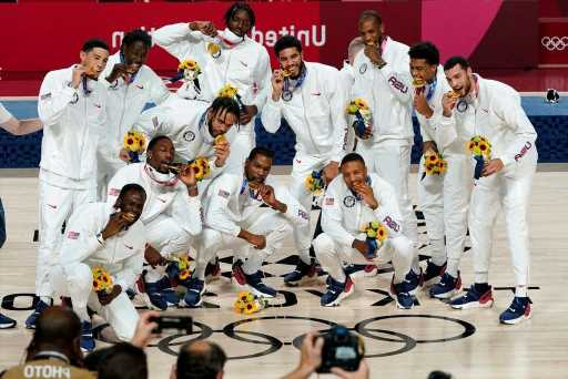Tokyo Olympics: Team USA Takes The Gold, Defeats Team France 87-82