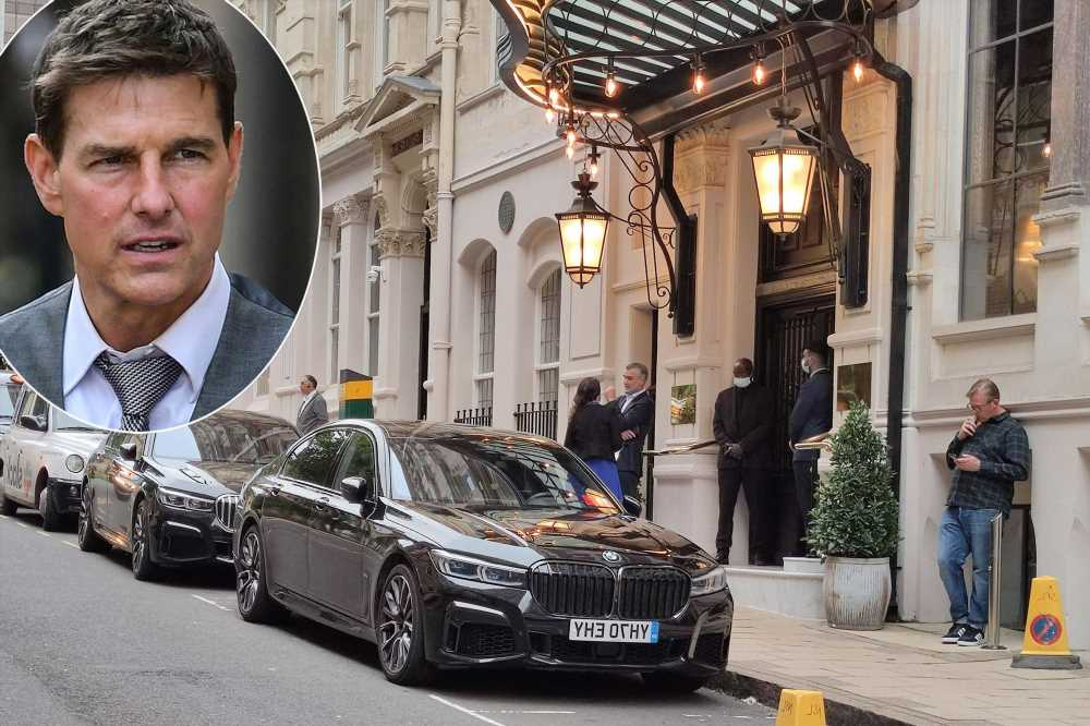 Tom Cruise's BMW stolen during 'Mission Impossible' filming