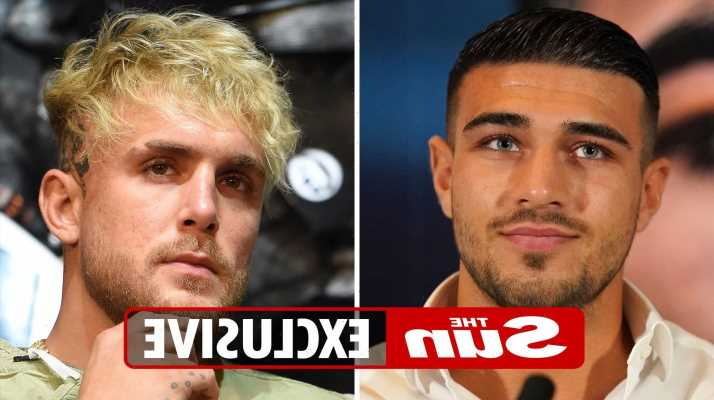 Tommy Fury could face Jake Paul NEXT if he beats YouTuber's sparring partner Anthony Taylor after signing two-fight deal
