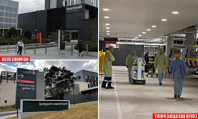 Two major Sydney hospitals no longer accepting Covid patients