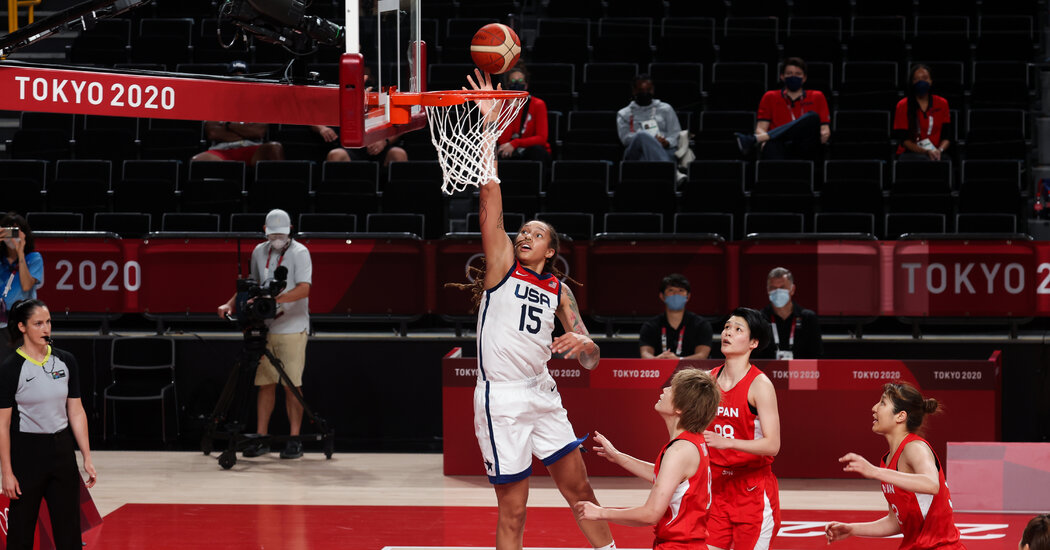 U.S. Women Win Basketball Gold, and Prepare to Turn the Page