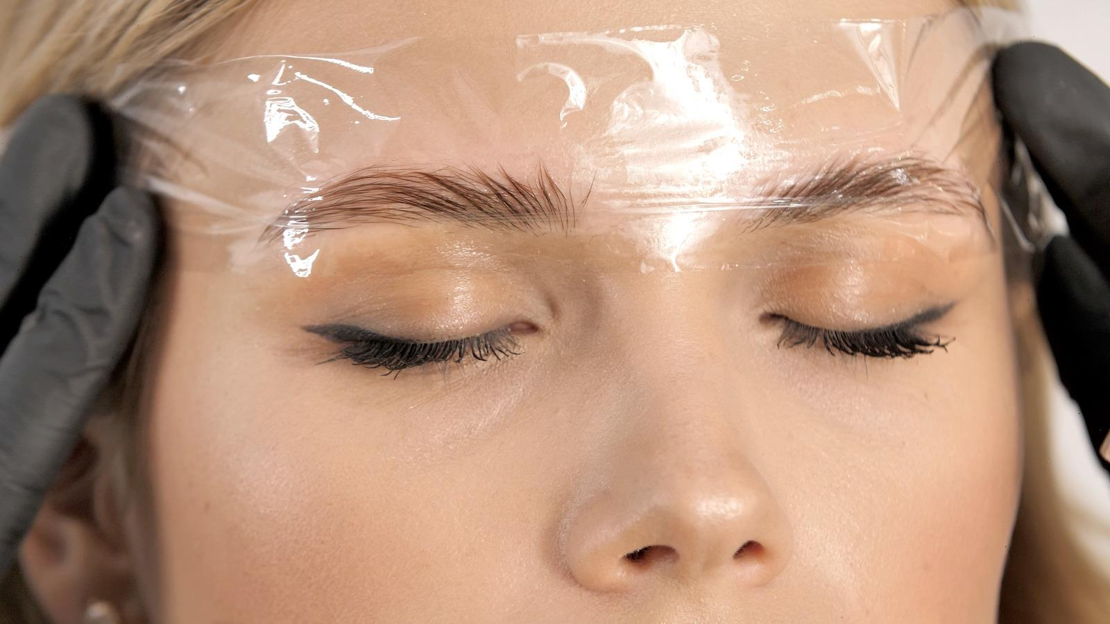 What The Eyebrow Lamination Process Is Really Like