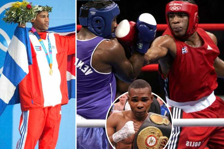 Why Cuba's Olympic champ boxers can't turn pro with fighters disguising themselves as GIRLS to flee and sign contracts