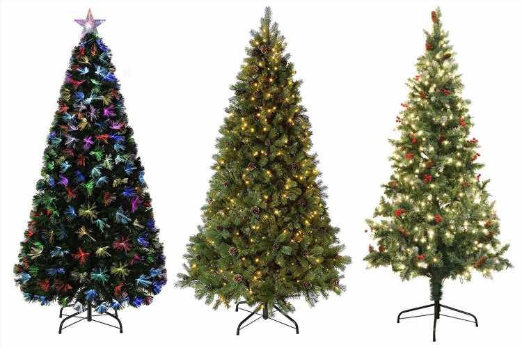 10 Best Pre-Lit Christmas Trees 2021   The Sun UK