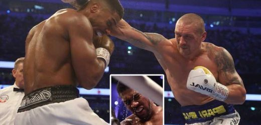 Anthony Joshua incredibly says Oleksandr Usyk fight WASN'T toughest of his career as he plans to trigger rematch clause