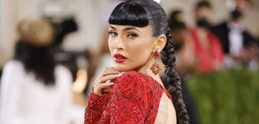 Apparently, Megan Fox Isn't Done Breaking the Internet — She Just Debuted Bangs at the Met Gala