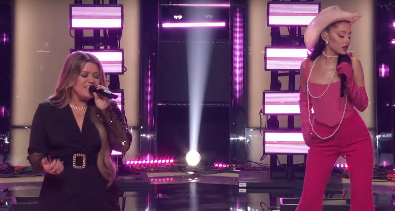 Ariana Grande & Kelly Clarkson Sing 'Respect' On 'The Voice' Premiere – Watch!