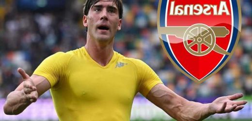 Arsenal boost as Fiorentina president reveals he's struggling to tie down transfer target Dusan Vlahovic to new contract