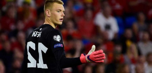 Arsenal keeper Karl Hein, 19, signs new contract after academy breakthrough and stunning display for Estonia vs Wales