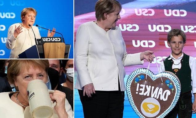 Auf Wiedersehen to Angela Merkel, says DOMINIC SANDBROOK