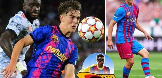Barcelona wonderkid Gavi, 17, has been likened to Spain legend Xavi and is the future of Catalan giants' midfield
