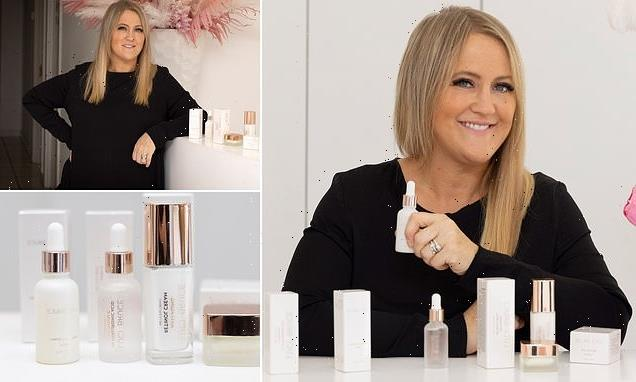 Beauty salon owner using MailOnline to attract new business