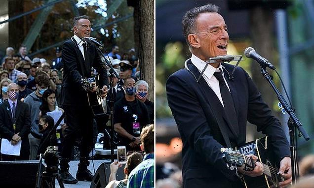 Bruce Springsteen sings 'I'll See You In My Dreams' at 9/11 memorial