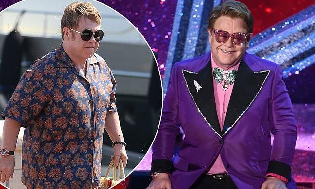 Elton John, 74, POSTPONES his farewell tour for two years after a fall
