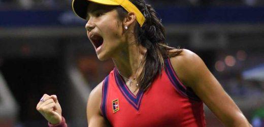 Emma Raducanu becomes first British woman into Grand Slam final since 1977 with stunning Sakkari win in US Open semi