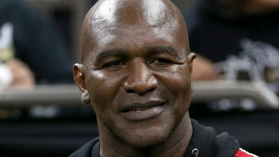 Evander Holyfield at 58: 'I've been taking care of my body'