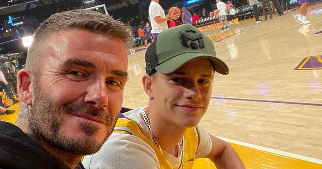 Following Dad's Footsteps! David Beckham's Son Romeo Joins Pro Soccer Team