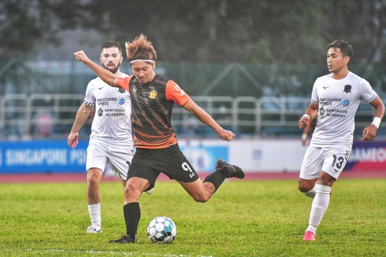 Football: Tomoyuki Doi hat-trick helps Hougang trounce Tampines 7-3 in SPL