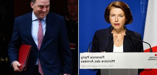 French minister CANCELS meeting with defence secretary Ben Wallace