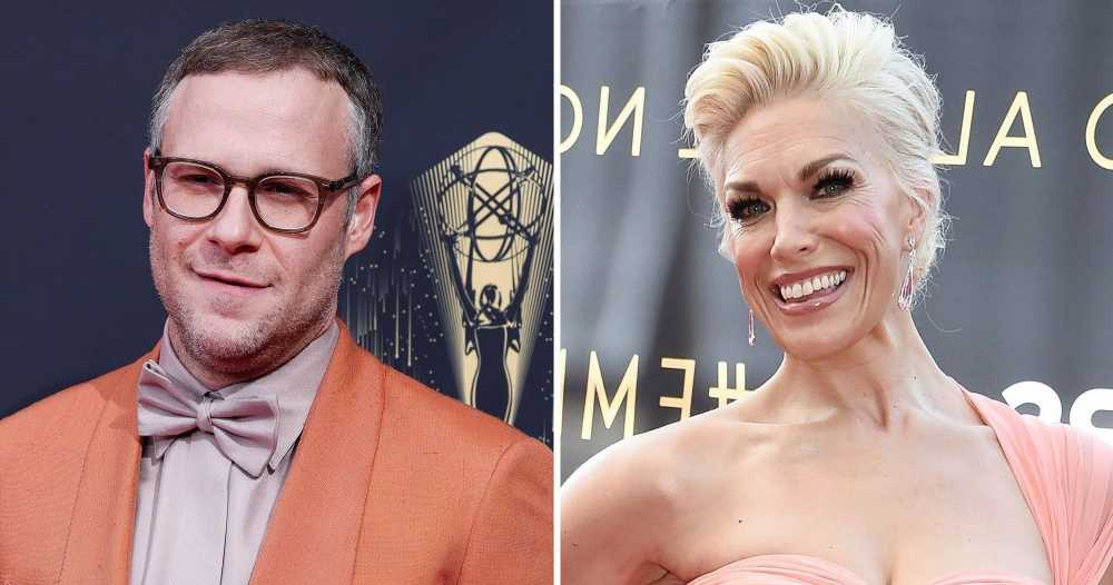 Hannah Waddingham Reacts to Seth Rogen Mispronouncing Her Name at Emmys